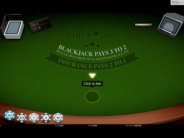 Play 'Blackjack Singlehand' for Free and Practice Your Skills!