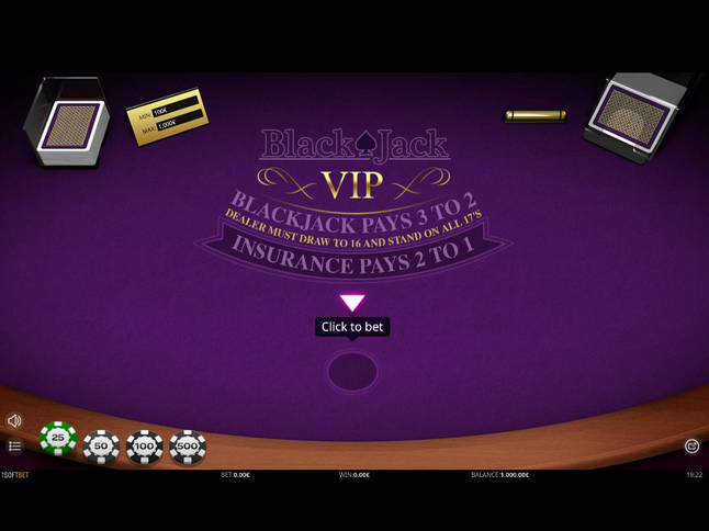 Play 'Blackjack Singlehand VIP' for Free and Practice Your Skills!