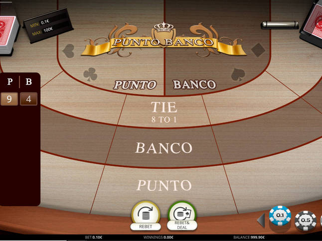 Play 'Punto Banco' for Free and Practice Your Skills!