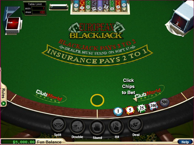 Play 'European Blackjack' for Free and Practice Your Skills!