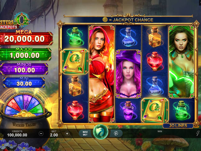Play 'Sisters Of Oz Jackpots' for Free and Practice Your Skills!